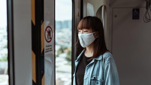 sars冠狀病毒2, 乘客, 亞洲女人 的 免費圖庫相片