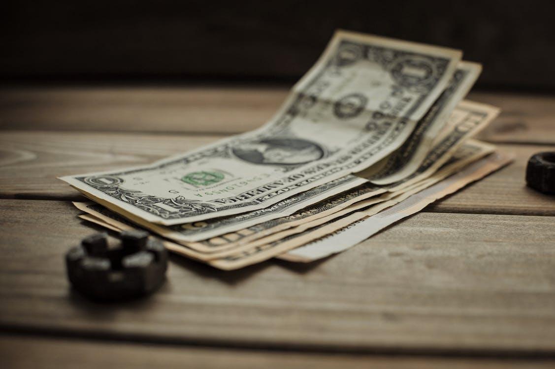 Close-Up Photo of US Dollar BIlls