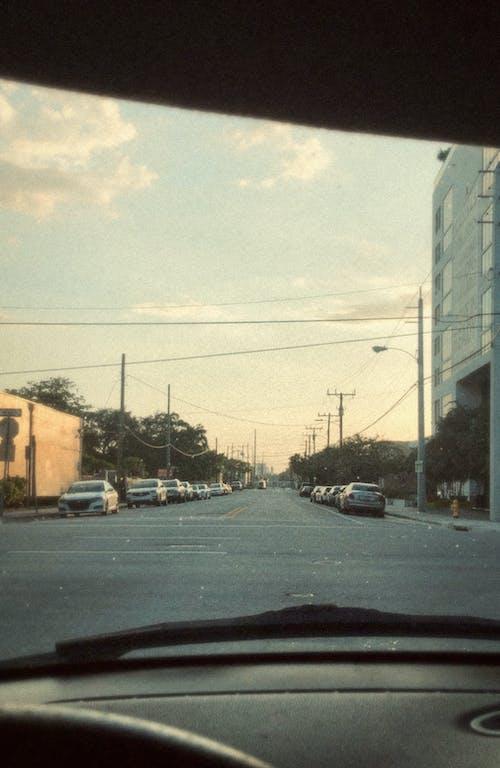 Δωρεάν στοκ φωτογραφιών με carviews, goldenhour, miamiviews, vintage