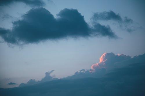 Gratis lagerfoto af bjerg, blå himmel, blå himmel, blå himmel