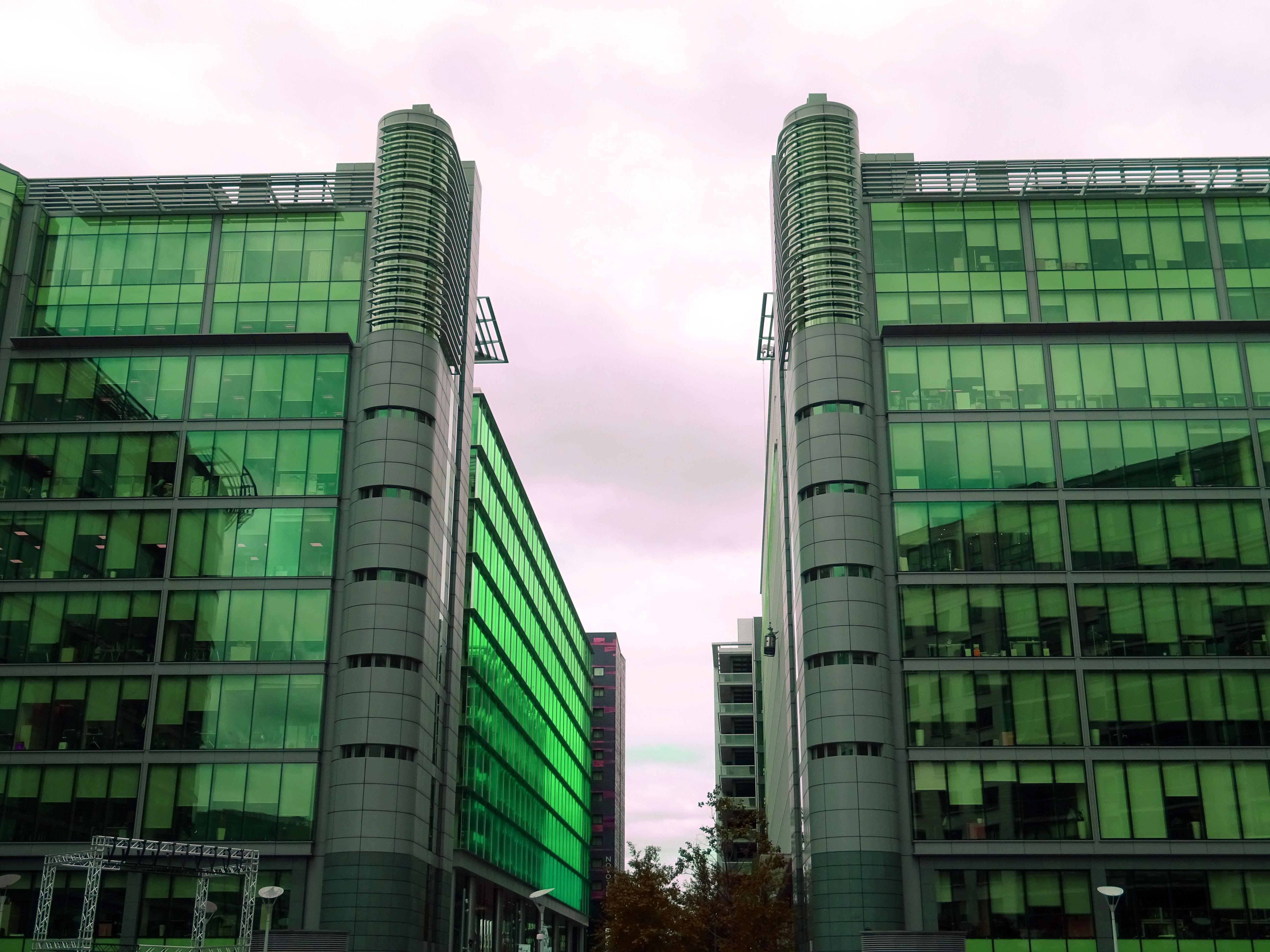 Green Glass Buildings
