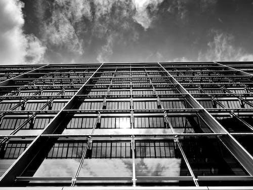 Kostnadsfri bild av arkitektur, byggnad, fönster, glas