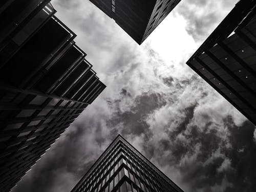 Low-angle Photo of High-rise Buildings