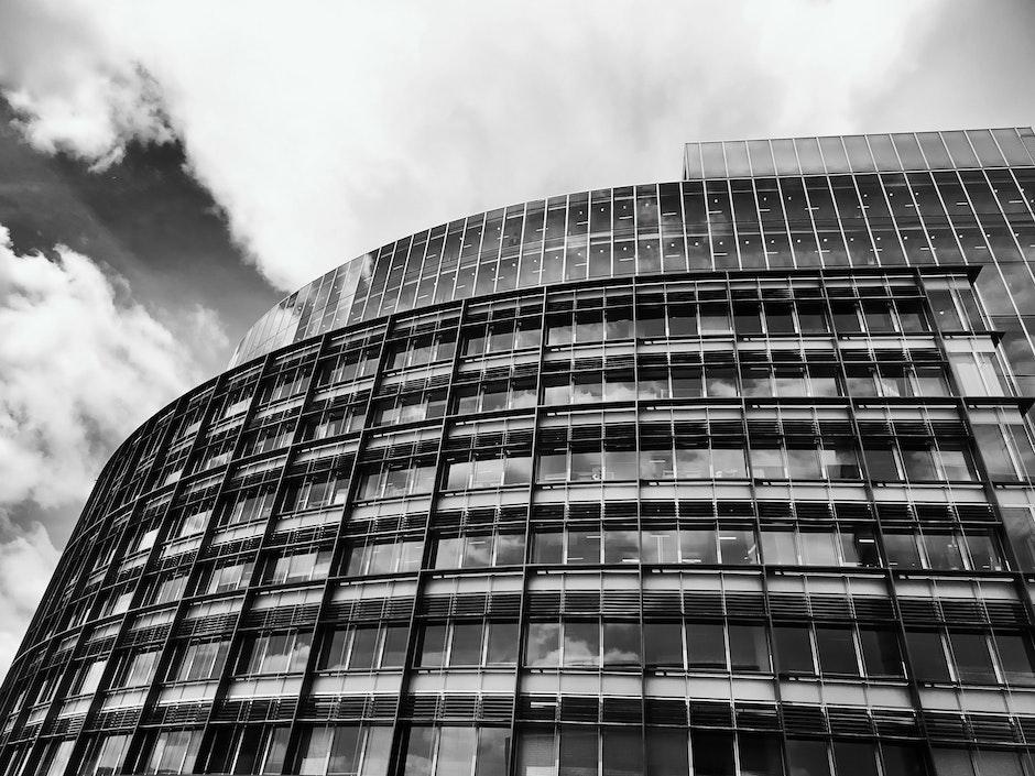 architectural design, architecture, black and-white