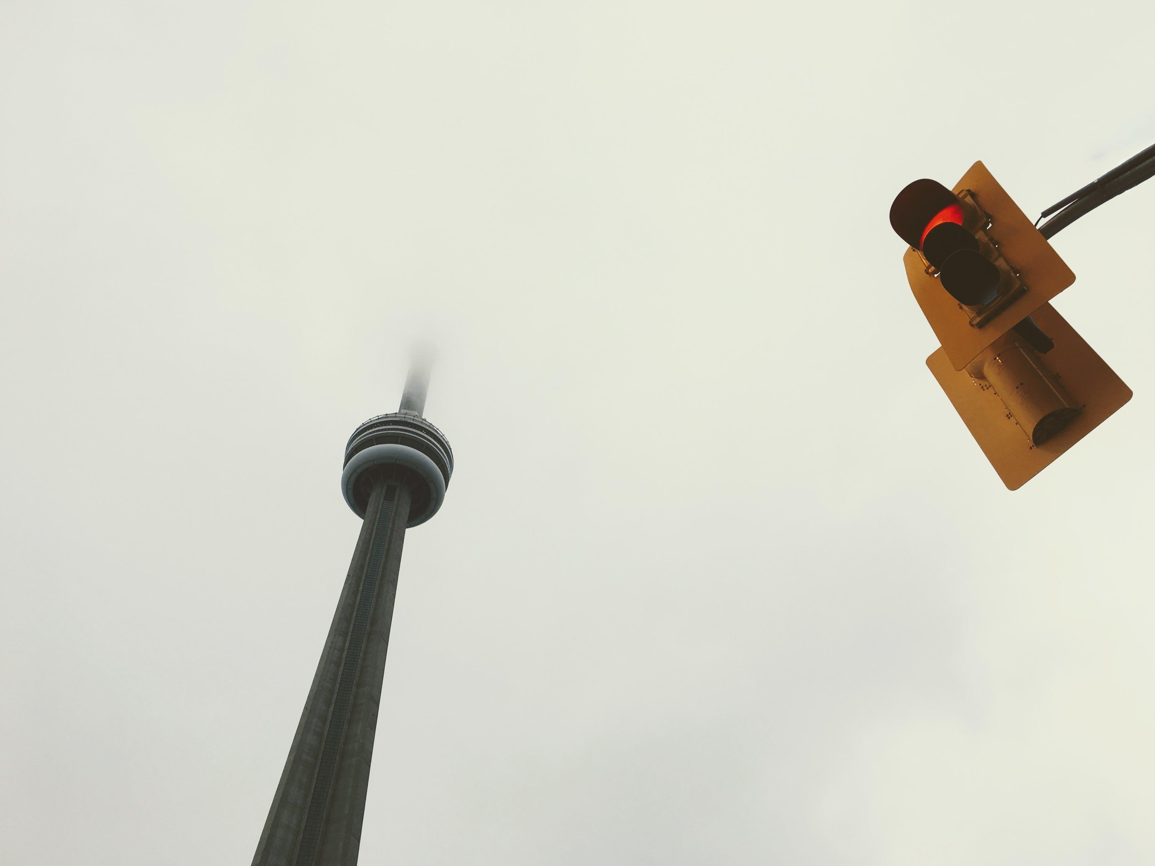 Low-angle Photography of Cn Tower