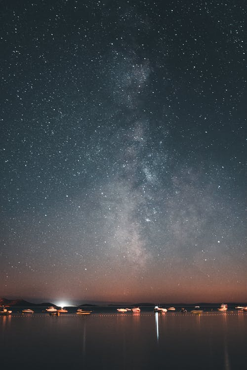 Gratis stockfoto met Adriatische Zee, astronomie, beroemdheden, blauwe lucht
