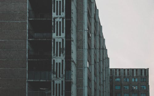 Free stock photo of architecture, buildings, depression