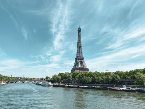 Eiffel Tower Near Body of Water