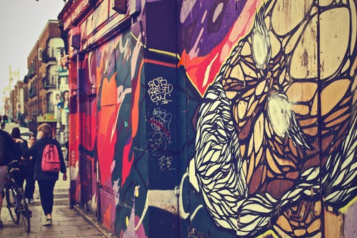 Foto d'estoc gratuïta de art, ciutat, graffiti, mur
