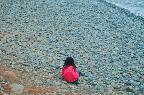 Free stock photo of beach, beach girl, bed of rocks, coast
