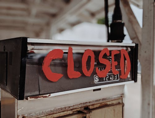 Free stock photo of business, city, closed