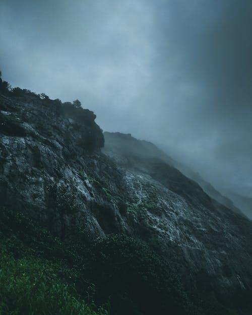 Free stock photo of atmosphere, atmospheric phenomenon, black, cliff