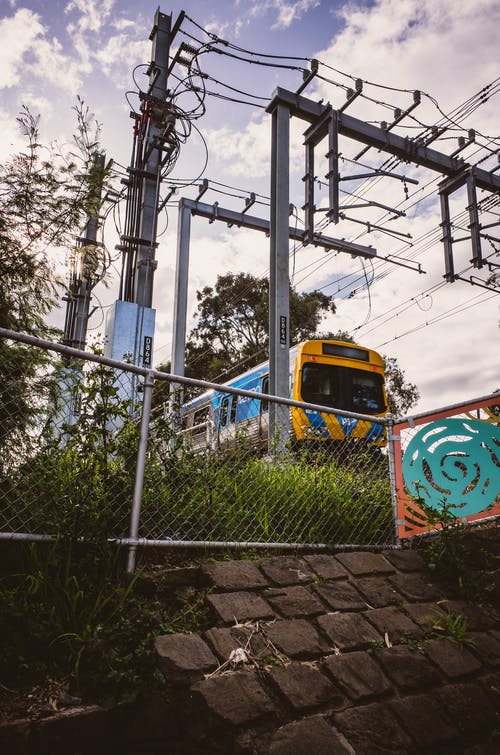 Free stock photo of outdoors, railway, sky, train