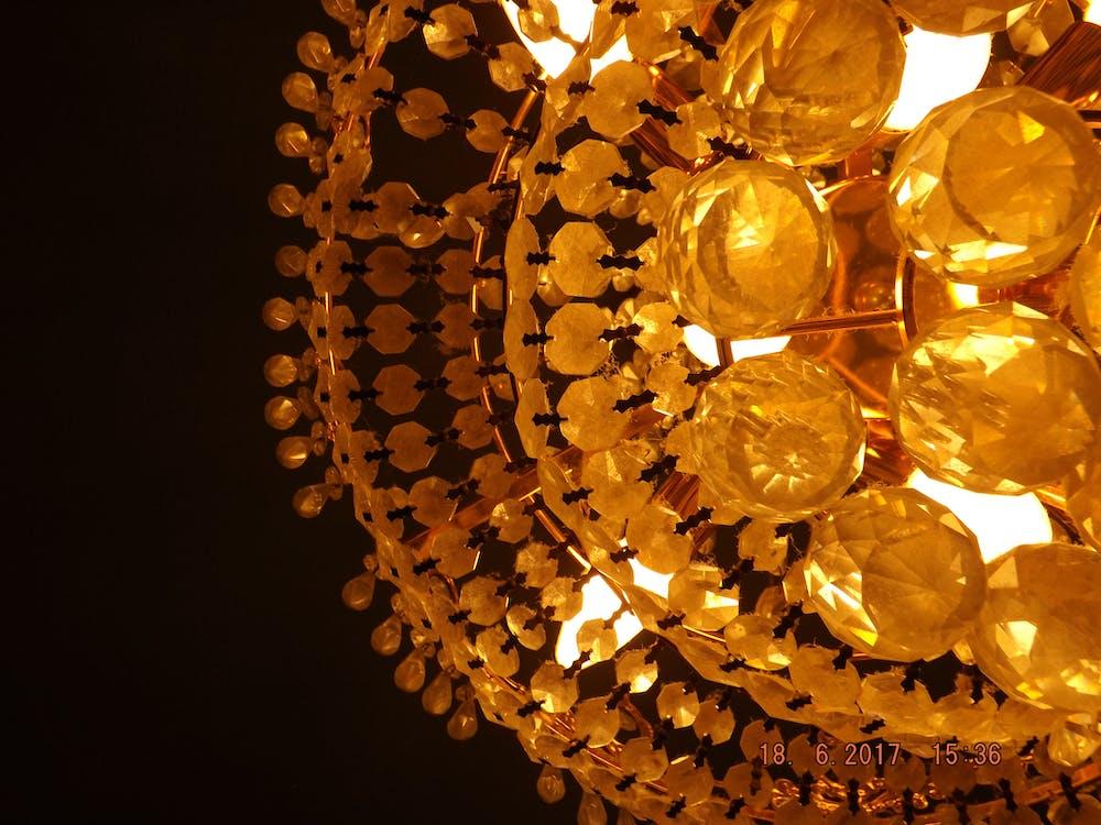 Free stock photo of golden lights, hd, pc desktop wallpaper