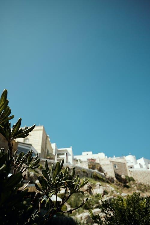 White Concrete Building Under Blue Sky