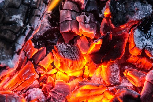Free stock photo of burning, coals