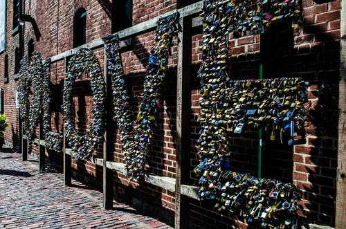 Free stock photo of distillery district, downtown toronto, love locks