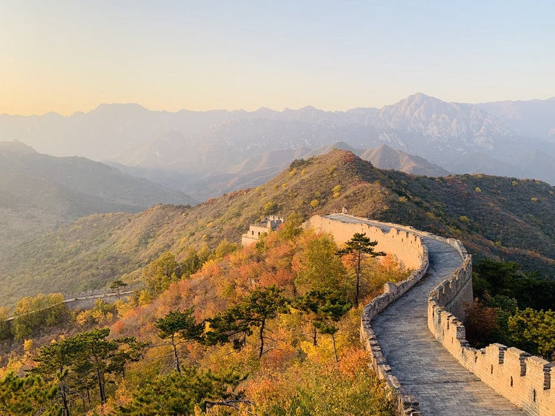 Walk on the Great Wall of China