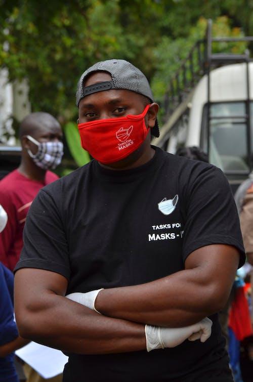 Free stock photo of a middle aged black man, cape backward, martin kirigua
