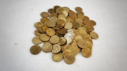 Free stock photo of coins, finance, money