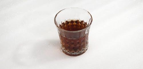 Free stock photo of glass, tea, white