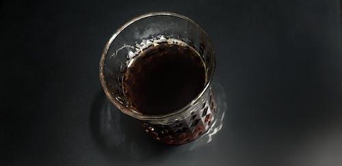 Free stock photo of black, dark, glass, tea