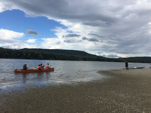 Free stock photo of canoe, canoeing, cloud, clouds