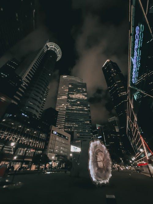 Бесплатное стоковое фото с архитектура, бизнес, вечер