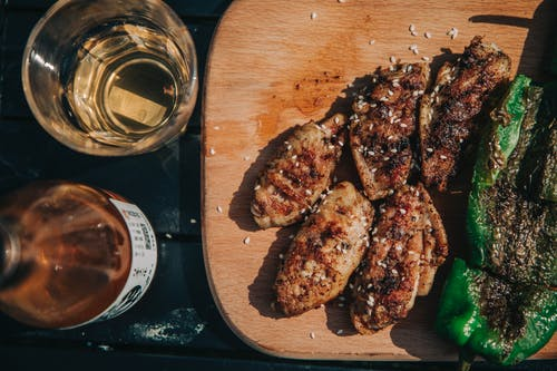 Бесплатное стоковое фото с алкогольный напиток, Аппетитный, Барбекю