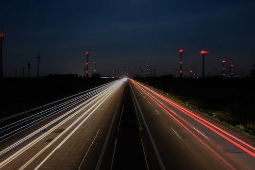 Free stock photo of road, night, street, highway