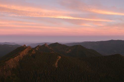 stratovolcano, 경치, 골든 아워, 골짜기의 무료 스톡 사진
