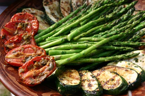 Free stock photo of appetizer, asparagus, eating healthy, food photography