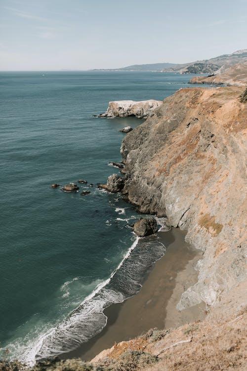 Fotos de stock gratuitas de acantilado, agua, al aire libre, bahía drake