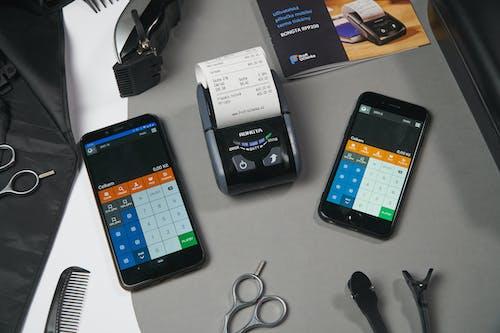 Black Iphone 4 on Table