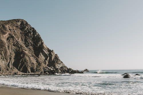 açık hava, big sur, dalgalar, deniz içeren Ücretsiz stok fotoğraf
