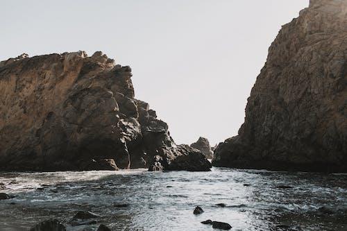 açık hava, big sur, deniz, dış mekan içeren Ücretsiz stok fotoğraf