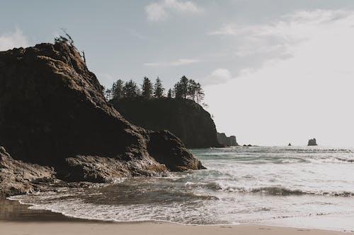 açık hava, dalgalar, deniz, deniz dalgaları içeren Ücretsiz stok fotoğraf