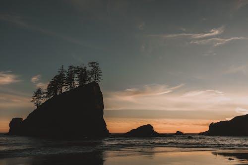 골든 아워, 물, 바다, 바다 경치의 무료 스톡 사진