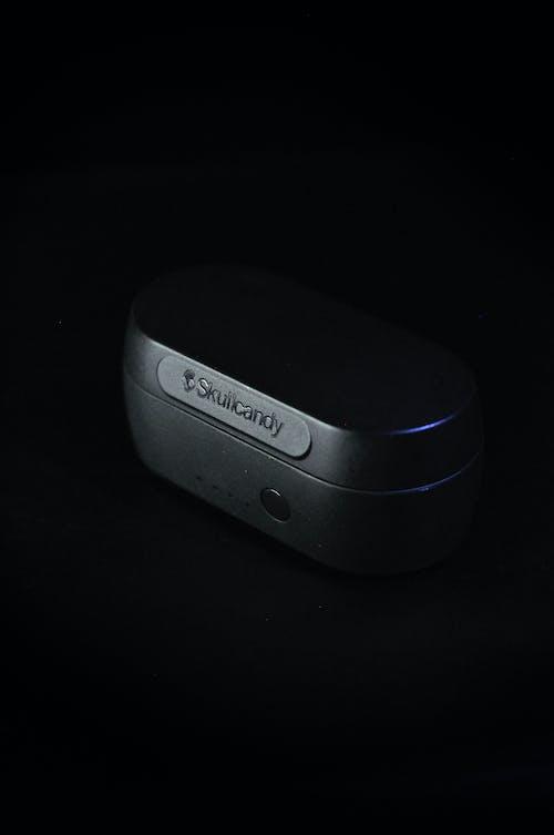 Free stock photo of airpods, black, dark, earphones