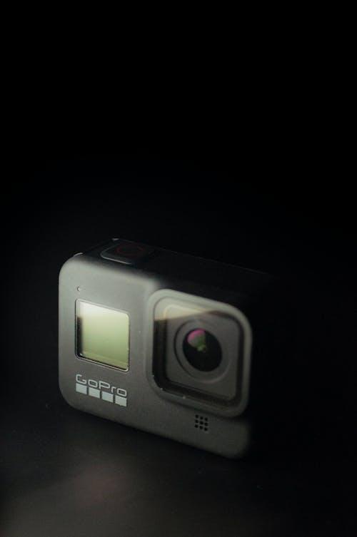Free stock photo of action camera, black, dark, gadget