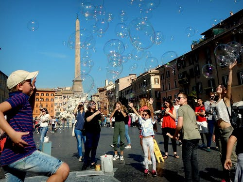 Free stock photo of berühmter platz, Freude, leben, Rom