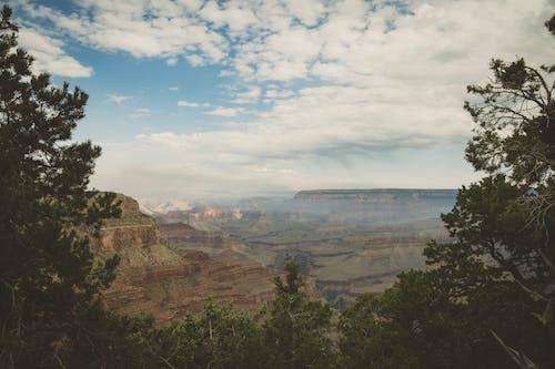 Ilmainen kuvapankkikuva tunnisteilla Grand canyon, ikivihreä, kaunis maisema, kaunis taivas