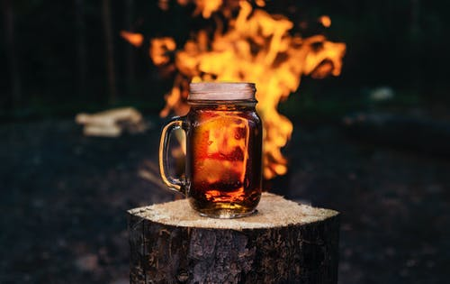 Free stock photo of bark, beer, bonfire, brew