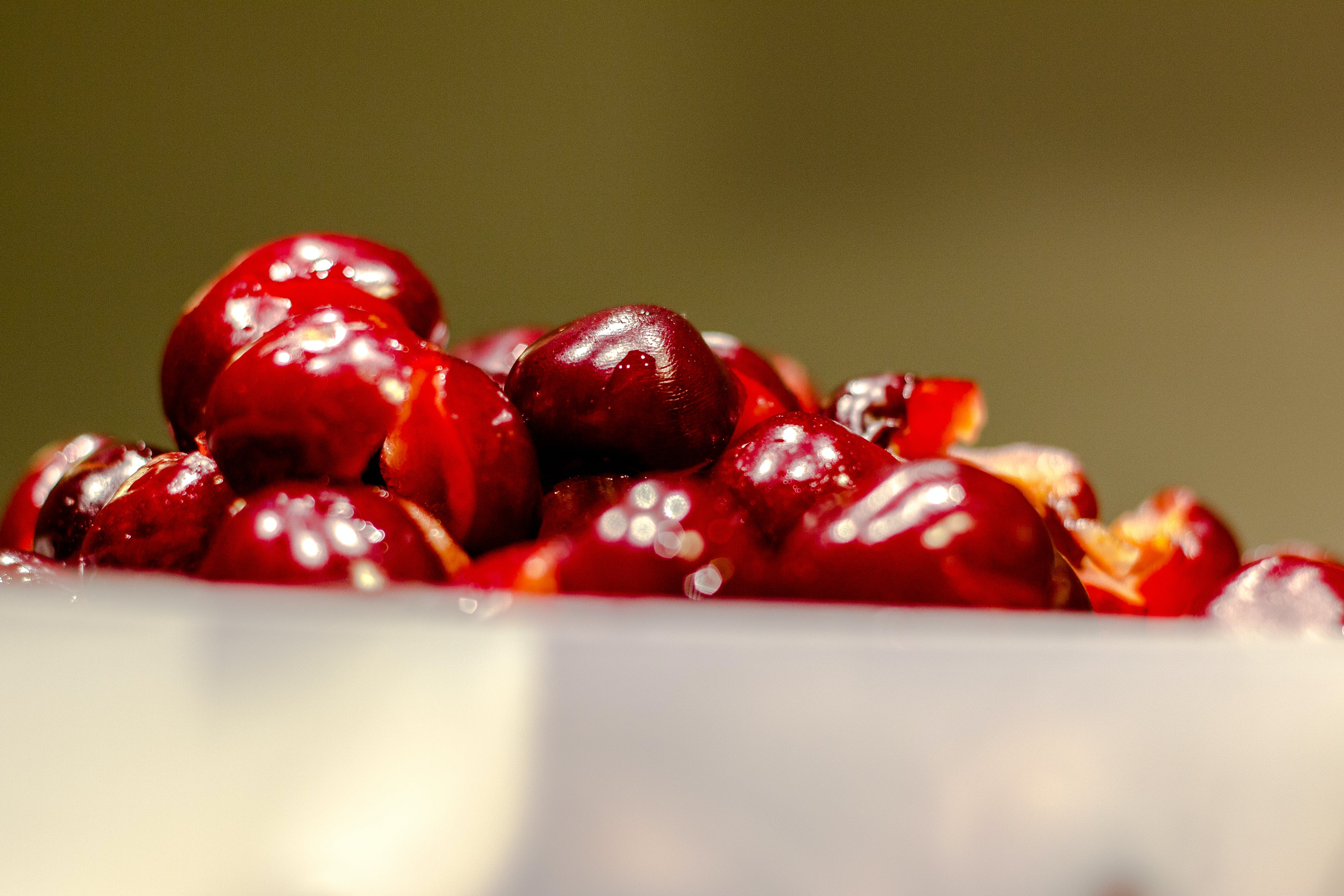 cherry, close-up, delicious