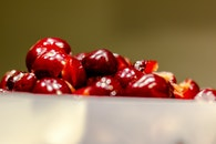 healthy, red, fruits