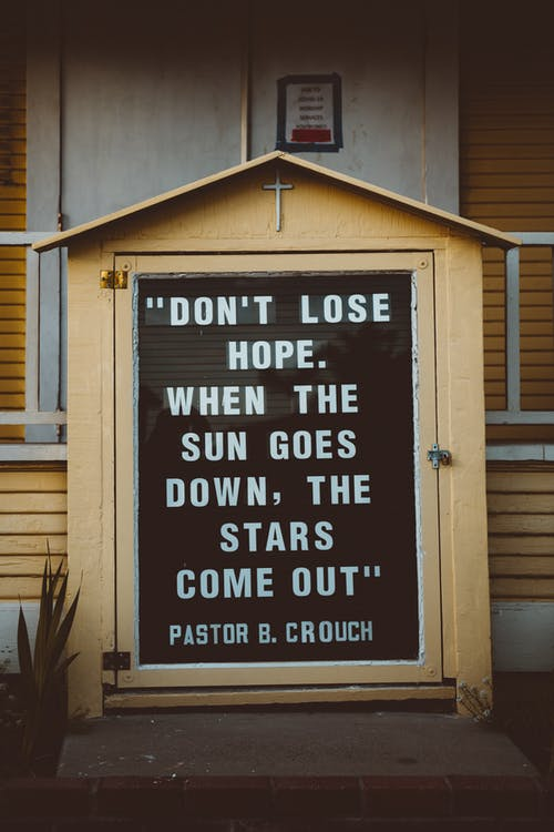 Free stock photo of hope, typography