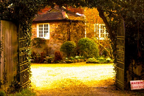 Free stock photo of england, garden, gate