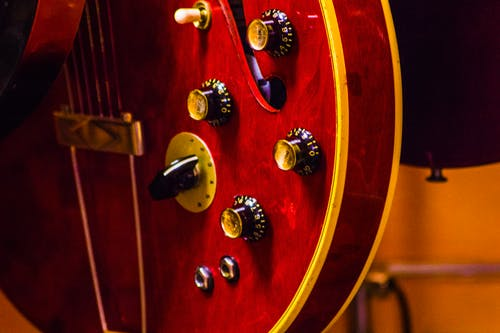 Free stock photo of cherry, electric guitar, electric guitars, tone