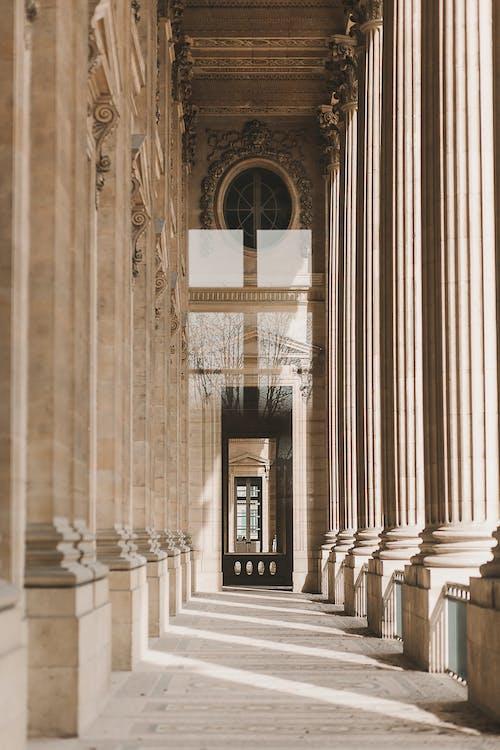 Photos gratuites de à l'intérieur, ancien, antiquité, architecture