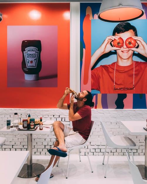 Foto stok gratis karya seni, makan, makan di luar, makanan kafe